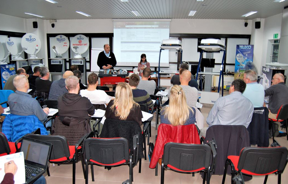 Stages de formation pour techniciens du Benelux
