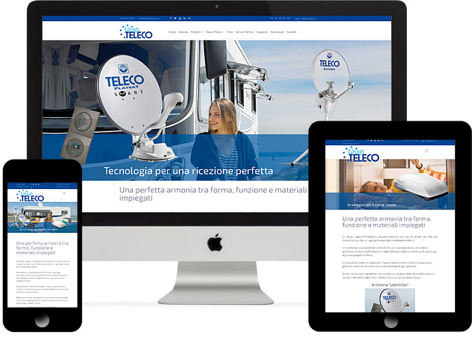 Teleco and Telair's new website is online