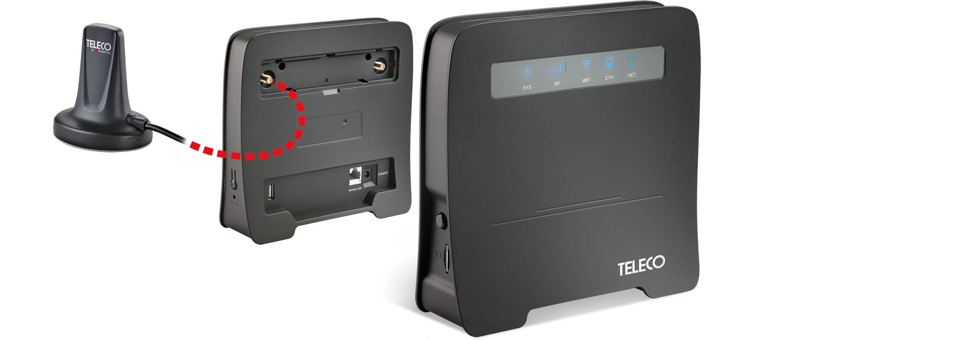 Internet for all the family with the WiFi VAN T400 router